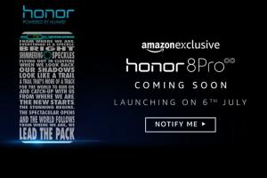 Honor 8 Pro to launch in India on July 6, will be Amazon exclusive