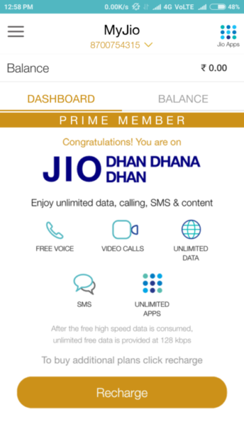 Solved: I cannot access Internet using Reliance Jio 4G SIM