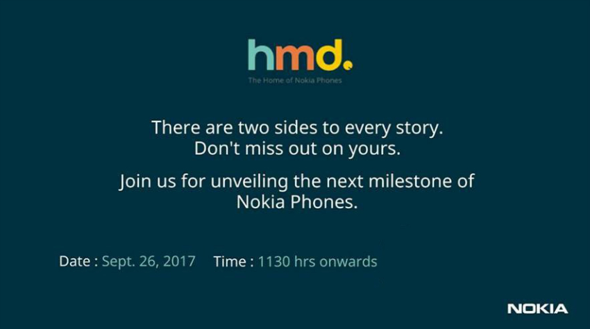 HMD Global sends press invite for Nokia smartphone launch event next week