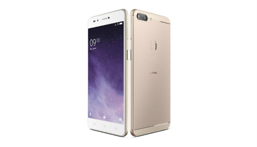 The Lava Z90 boasts metallic design