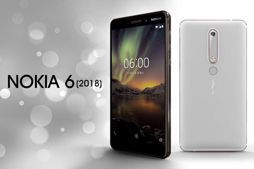 The new Nokia 6 (2018) features a circular-shaped fingerprint sensor on the rear panel