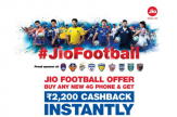 Is your phone eligible for Jio Football Rs 2200 Cashback offer?